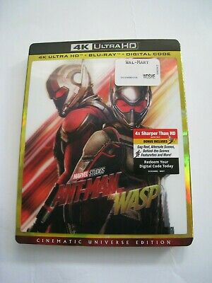 Ant-Man and the WASP (4K Ultra HD slip cover only)No Disc No Blu Ray