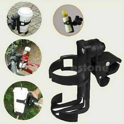 Universal Baby Stroller Parent console Organizer Cup Holder Buggy Jogger Blackx1