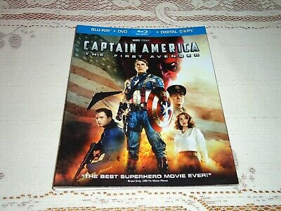 Capitán América The First Avenger Slipcover Only, No Discos Oop