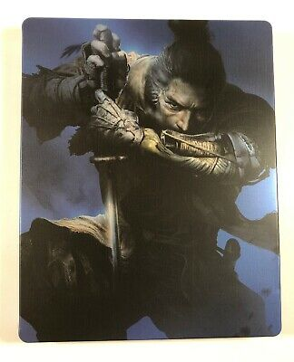 no Game Collector's Limited Edition Reasonable Sekiro Shadows Die Twice-steel Book