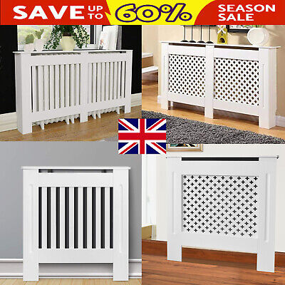 Radiator Covers White Finished Modern Traditional Wood Grill Cabinet Furniture
