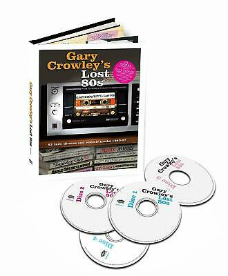GARY CROWLEY LOST 80s, Rare Forgotten Songs! 4 x CD