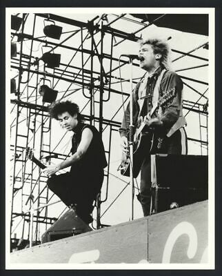 1980s THE ALARM On Stage Vintage Original Photo WELSH NEW WAVE BAND gp