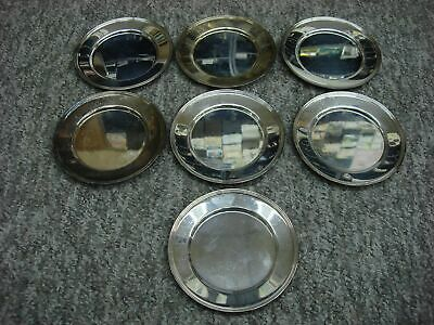 "Group Of 7 F.b. Rogers. 6"" Silver Plated Plates Nice Condition"