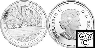 2013 'Franz Johnston - Group of Seven' Proof $20 Silver Coin 1oz .9999 (13173)