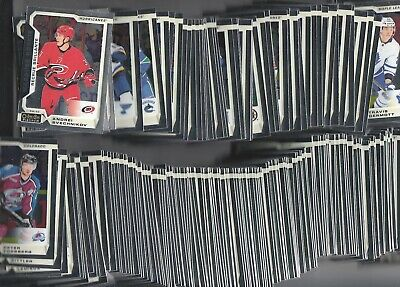 2018-19 O-Pee-Chee Platinum Complete Set With Marquee Rookie 200 Cards