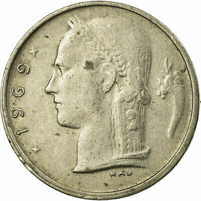 [#318149] Monnaie, Belgique, Franc, 1969, TB+, Copper-nickel, KM:142.1
