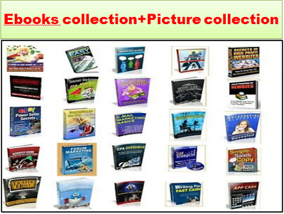 299000+ eBooks Package Collection+100+Digital picture image photo