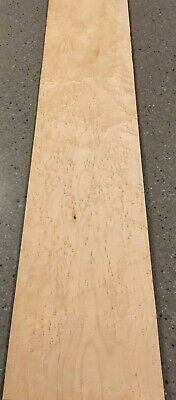 "Birdseye Maple Wood Veneer: 7 Sheets (30"" X 6.5"") 9 Sq Ft"