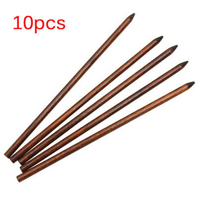 10PCS Traditional Carved Ebony Wooden Hair Pin Stick Original Retro Women RKUS