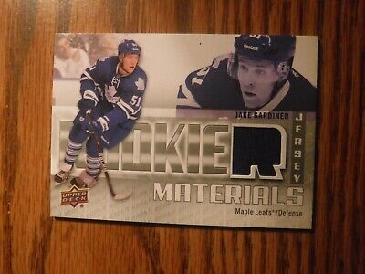 2011-12 Upper Deck Rookie Materials #RMJG Jake Gardiner