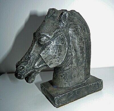 Vintage Horse of Selene: Copy of Museum Ancient Greek Horse Head