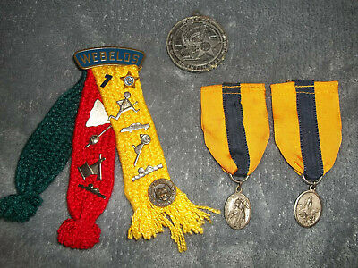 VINTAGE WEBELOS CUB SCOUT ACTIVITY PINS/MEDALS/RIBBONS 1970s