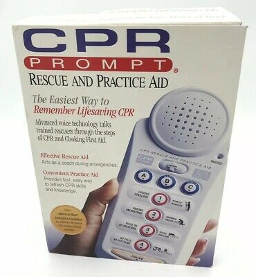 CPR & Choking Prompt Rescue & Practice Aid CPR100 Adult Child Baby First Aid