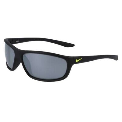 Occhiali da Sole Nike dash EV1157 071 58-13-118 junior matt black lenti grey sil