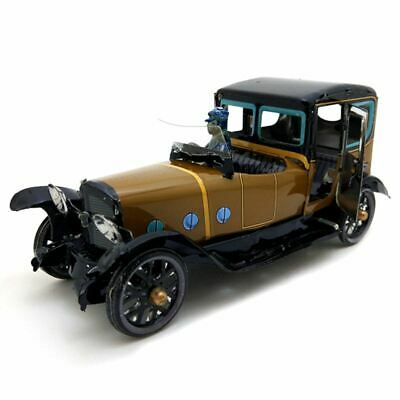 Mechanical Toy Old Metal Driver Driven Saloon Collection Gifts for Children J3I6