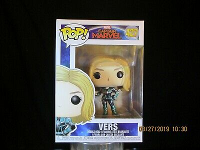 Funko Pop! Marvel: Captain Marvel Vers 427 In stock