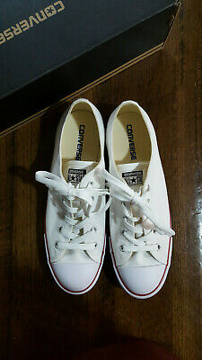 Converse Chuck Taylor All Star Dainty Low Casual Shoe - White - Size 10AUS