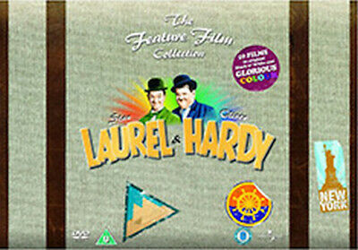 Laurel & Hardy - The Feature Film Collection (34 Films) Dvd [Uk] New Dvd