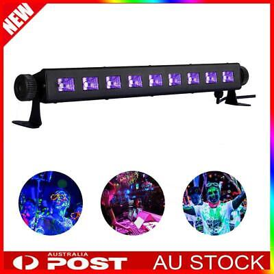 LED UV Stage Black Light Wall Washer Lamp DMX Bar Can DJ Disco Party Lighting