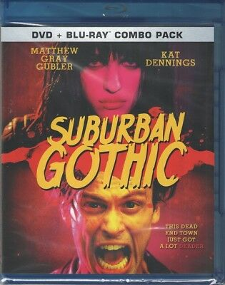 Suburban Gothic (Blu-ray, DVD) BRAND NEW VERY RARE OOP & HTF *ONLY ONE eBay!!*