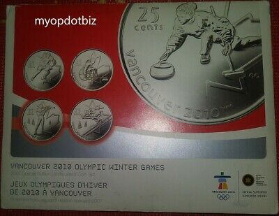 2007 Canada Vancouver Olympic 2010 Special Edition Uncirculated Coin Set