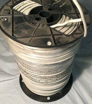 Southwire #10 AWG Copper Building Wire White Stranded THHN THWN MTW 500Ft