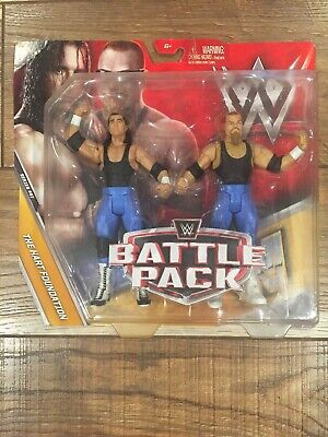 WWE BATTLE PACK THE HART FOUNDATION SERIES 47 NEW FCV89