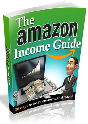 The Amazon Income Guide  book + 3  Bonus books With Master Resell Rights MR
