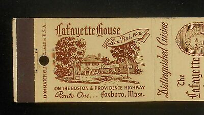 VINTAGE MATCHBOOK COVER ROD'S 1890'S RANCH HOUSE Convent