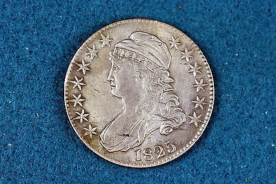 1825 Capped Bust Silver Half Dollar #D0089