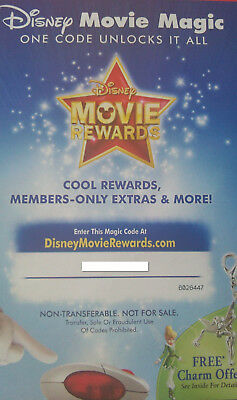 8 X Disney Movie Rewards Codes + The Nut Cracker And The Four Realms iTune Movie