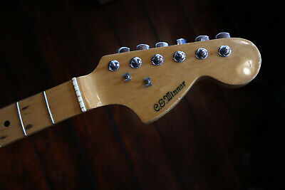 Vintage Stratocaster Japan Guitar Neck Maple Hals Repair Lawsuit Copy Relic