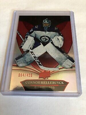 2018-19 Trilogy Connor Hellebuyck Red Foil Parallel #064/425