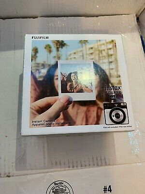 Fujifilm instax SQUARE SQ6 Instant Film Camera - White