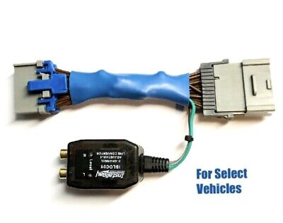 Add An Amp Amplifier Adapter to OEM Radio for some Ford Edge Escape Explorer etc