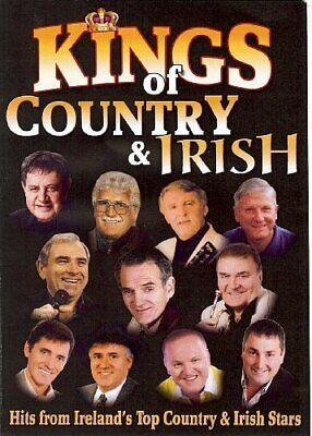 KINGS OF COUNTRY & IRISH HITS FROM IRELANS'S TOP STARS - DVD  XIVG The Cheap