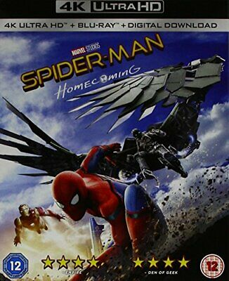 Spider-man Homecoming [4K UHD + Blu-ray] [2017] [Region Free] - DVD  BYVG The
