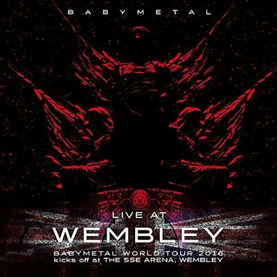 BABYMETAL - Live At Wembley - BABYMETAL CD A5VG The Cheap Fast Free Post The