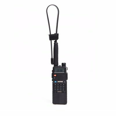 Tactical Antenna SMA-Female Dual Band Fordable Adapt For Baofeng UV-5R/82 RB