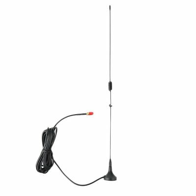 Car Mounted SMA-F Dual Band Mobile Radio Antenna for NAGOYA UT-106UV Black RB