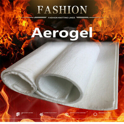 Ultra-light Silicone Aerogel Insulation Pad Soft and Light Industrial Pipe Mat