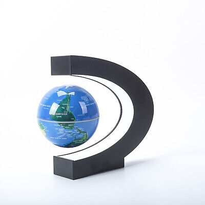 Mysteriously Floating Rotating Magnetic Levitation Globe Suspended in Air Gift