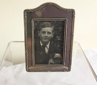 Vintage Kinney & Co Hallmarked Solid Silver Small Photograph Frame 1987