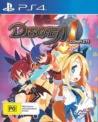 Disgaea 1 Complete PS4 PlayStation 4 New Sealed AU