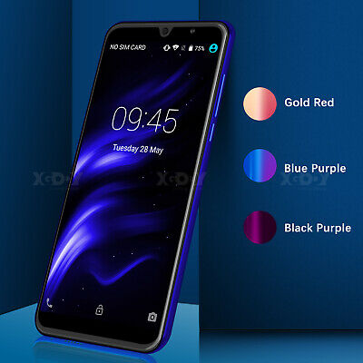 Unlocked 6 Inch Android 7.0 Cell Phone Dual SIM 3G GPS GSM Quad Core Smartphone