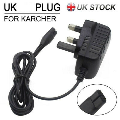 Window Vac Vacuum Battery Charger Power Supply For Karcher WV50 WV75 Cleaners UK
