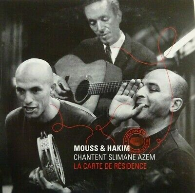 MOUSS & HAKIM chantent SLIMANE AZEM : LA CARTE DE RÉSIDENCE [ CD SINGLE PROMO ]