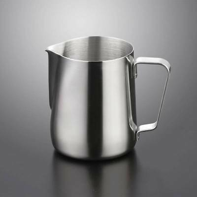 Stainless Steel Milk Pitcher Jug Latte Frothing 350ml 600ML For Barista Cafe Art