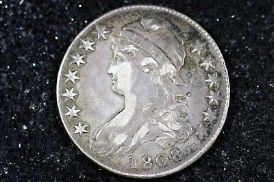 Estate Find 1808 - Capped Bust Half Dollar!!  #H9097